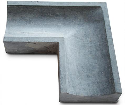 ocean bluestone caniveau pice de coin. Black Bedroom Furniture Sets. Home Design Ideas